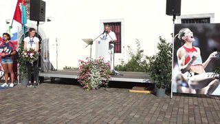 Lea Sprunger célébrée à Nyon