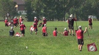 Le hornuss sur une surface équivalente à 100 terrains de football