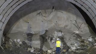 A9 Haut-Valais: retards et surcoûts annoncés pour le tunnel de Riedberg