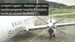SkyWork: le directeur explique la faillite de la compagnie