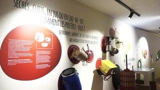 Porrentruy: un nouveau musée met à l'honneur les fruits et les eaux-de-vie suisses