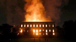 Musée de Rio incendié: photos et vidéo pour faire revivre les trésors partis en fumée
