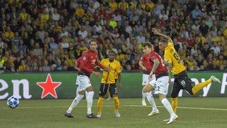 Football - Ligue des Champions: Young Boys s'incline face à Manchester United, la Juve gagne mais perd Ronaldo