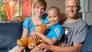 Cancer infantile: «on trouve la force en regardant Eliott»