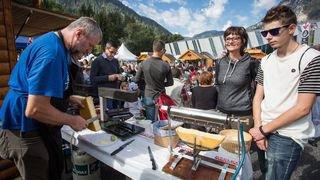 Trois bonnes raisons de participer à la 15e édition de «Bagnes, capitale de la raclette» ce week-end