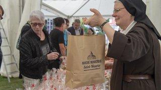 Saint-Maurice: la richesse des échanges au marché monastique