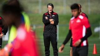 Murat Yakin effectue des débuts en douceur pour son premier entraînement à la tête du FC Sion
