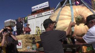 Etats-Unis: un agriculteur de l'Oregon devient quatre fois champion de la citrouille et remporte 15'000 dollars