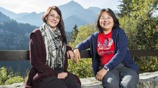 Champéry: un camp pour partager entre mères célibataires