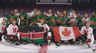 Les Ice Lions, seule équipe de hockey du Kenya, invités au Canada pour enfin affronter un adversaire