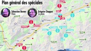Les 240 kilomètres de pièges du rallye international du Valais décortiqués avec Sébastien Berner et Grégoire Chappot