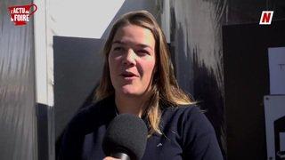 Foire du Valais: Mélanie Meillard positive et souriante malgré une deuxième blessure consécutive