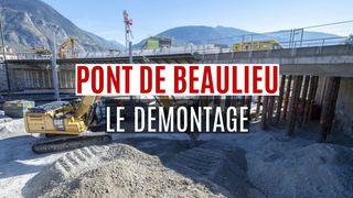 Sierre: le pont de Beaulieu n'est plus