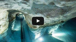 Valais: le réservoir d'eau de Tourbillon, un lieu magique à l'abri des regards