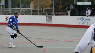Street-hockey: Grégory Dumas joueur du SHC Martigny et sélectionneur des Bleus