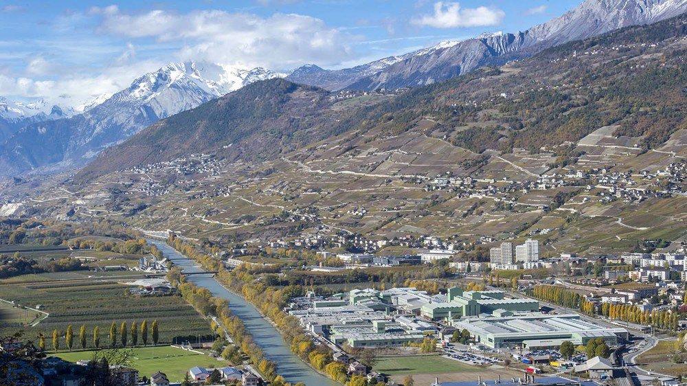 Le Valais est pénalisé par sa topographie dans l'étude du Credit Suisse, mais pas seulement.