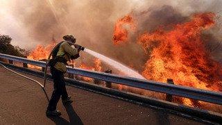 Feux de forêts en Californie: deux Valaisans témoignent