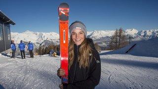 La douce montée en puissance de la skieuse de Zermatt Charlotte Lingg