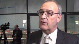 Conseil fédéral: réaction de Guy Parmelin sur son changement de département