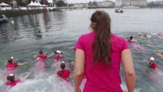 Nage en eaux froides à Genève: la Coupe de Noël fête sa 80e édition