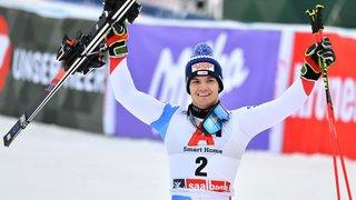 Géant sur la neige de Saalbach, Loïc Meillard met fin à une attente de dix ans