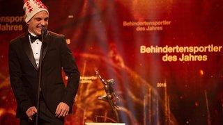 Mérites sportifs suisses: Théo Gmür sportif handicapé de l'année