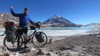 Le Bouveret: en seize mois, il relie l'Alaska à Ushuaia à vélo