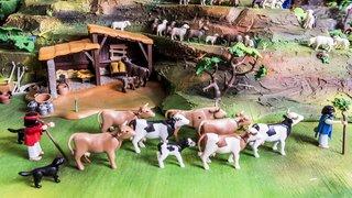 Martigny-Croix et Sion: quand les Playmobil donnent vie aux crèches