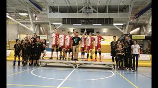Tchoukball: Sion U15 remporte les Geneva Indoors