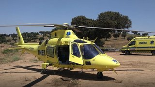 Quatre morts dans le crash d'un hélicoptère-ambulance au Portugal