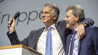 Le big boss d'UBS pour la première fois en Valais