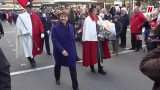 Viola Amherd au Conseil fédéral: l'accueil de la capitale valaisanne digne de sa fonction