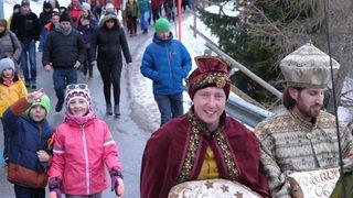 Valais: 60e fête de l'Epiphanie au val d'Anniviers