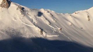 Valais: une avalanche monstrueuse déclenchée à Grimentz