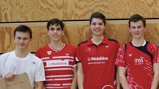 Badminton: les Valaisans en évidence à domicile