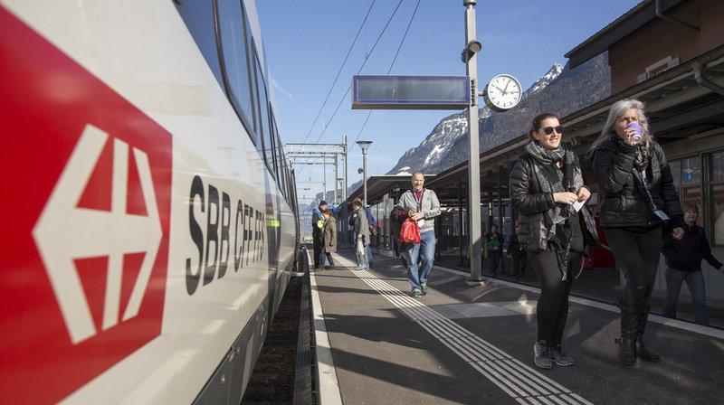 """CFF: près d'un train Intercity sur six est en retard selon la plateforme web """"Pünktlichkeit"""""""