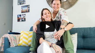Série «Le Valais amoureux»: Cindy et Virginie, des couloirs du job à l'étincelle