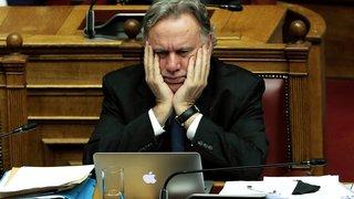 Début du débat au parlement grec
