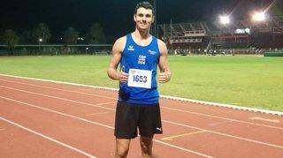 Athlétisme: Julien Bonvin a «claqué» deux bons chronos en Afrique du Sud
