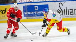 Hockey: Sierre marque son territoire en Valais en s'imposant à Martigny
