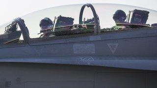 Sion: gare à vos oreilles, les vols de F/A-18 reprennent