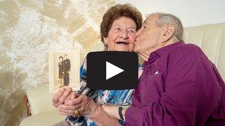 Série «Le Valais amoureux»: Evelyne et Agapius, 75 ans d'amour et un feu inaltérable