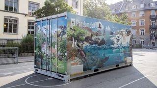 Pour sa première halte en Valais, le nouveau Pandamobile stationnera dès lundi à Salvan.