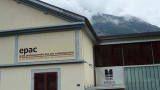 L'Ecole professionnelle des arts contemporains (EPAC) de Saxon ouvre ses portes ce vendredi 8février