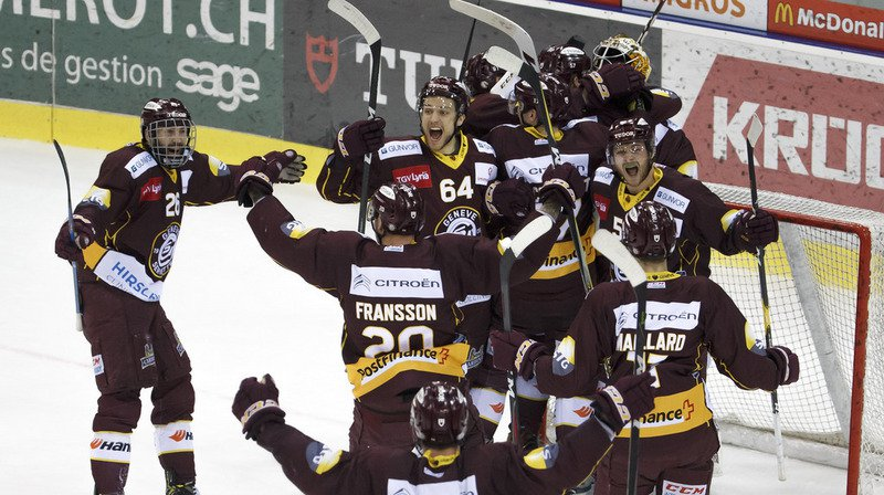Hockey: Genève-Servette s'impose face aux Zurich Lions et disputera les play-off