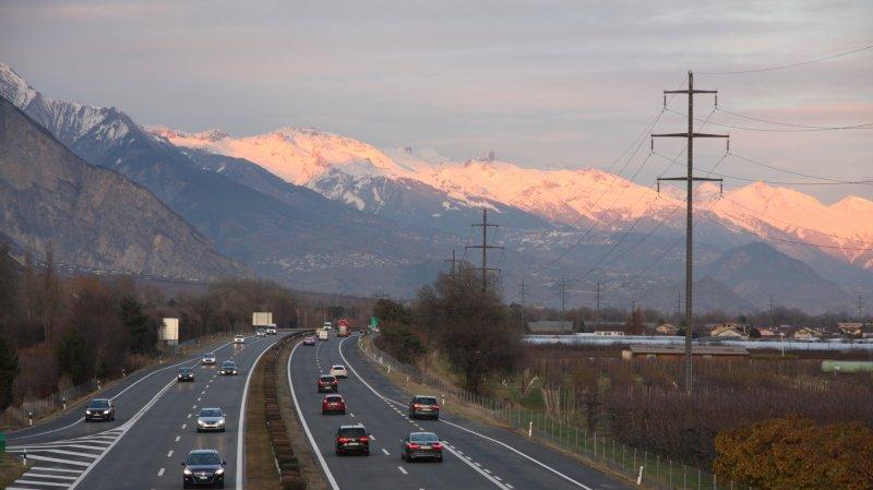 Le chantier de rénovation de l'autoroute reprend dès le 4 mars entre Saxon et Riddes