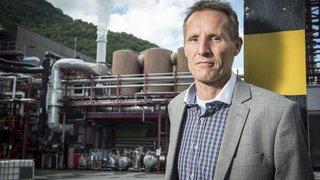 Pollution: le lent assainissement du site chimique d'Evionnaz