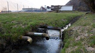 Pollution: quand les collectivités publiques valaisannes paient à la place des entreprises