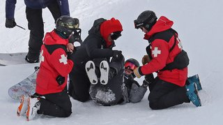 Snowboard: Iouri Podladtchikov opéré après une déchirure du tendon d'Achille