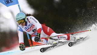 Ski alpin – Mondiaux d'Are: les Suissesses passent à côté de la première manche du géant